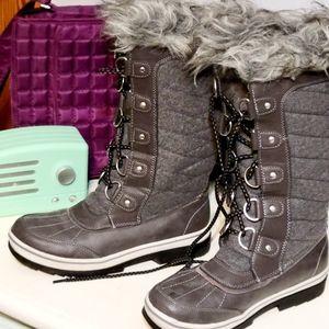 Magellan knee high winter boots